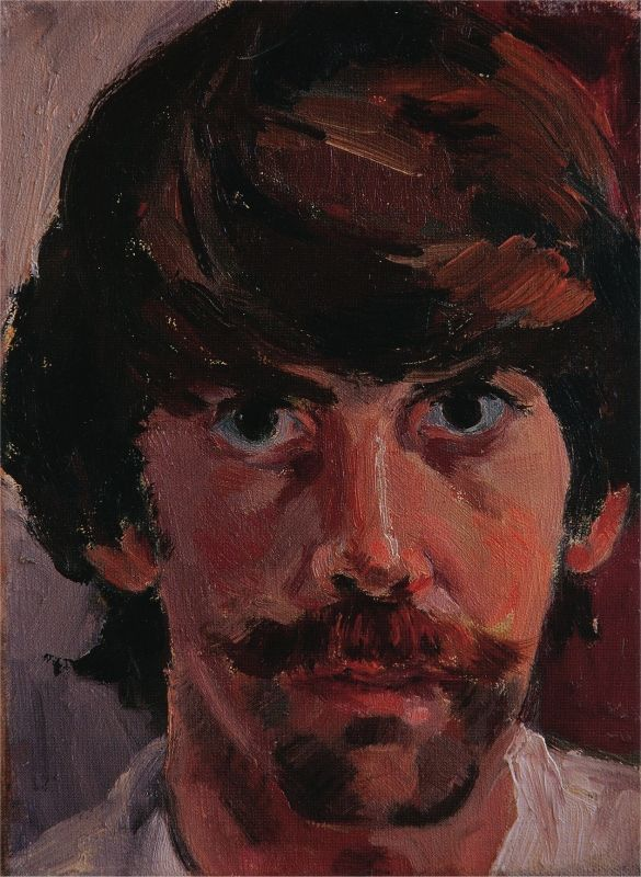 Autoportrait de l'artiste à trente-neuf ans